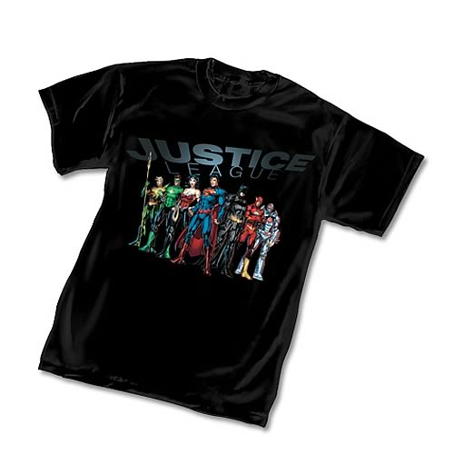 Justice League Jim Lee T-Shirt