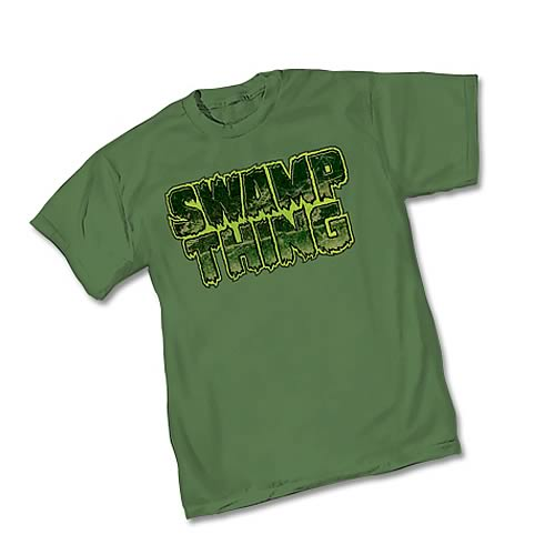 Swamp Thing Logo T-Shirt