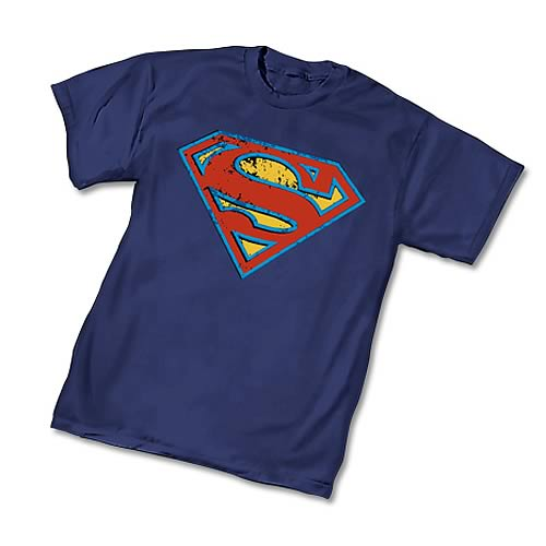 Superman Distressed Symbol T-Shirt