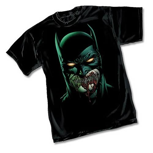Batman Zombie by David Finch Black T-Shirt