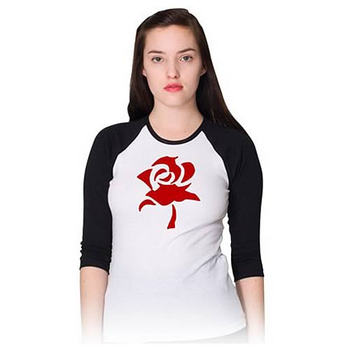 Fables Red Rose Baseball T-Shirt