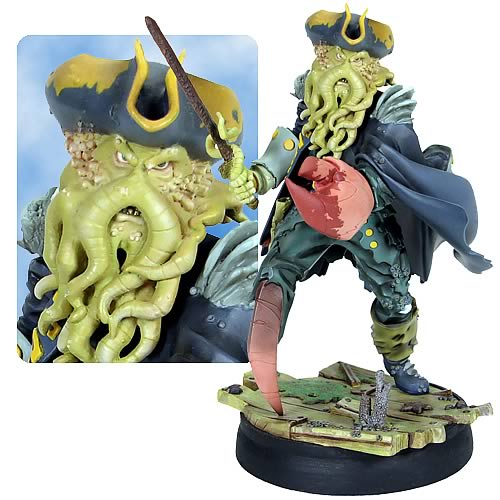 Pirates of the Caribbean Animated Davy Jones Maquette