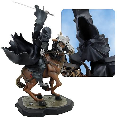 Lord of the Rings Ringwraith on Horse Animated Maquette