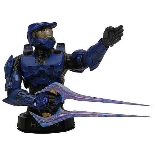Halo 3 Blue Master Chief Mini-Bust