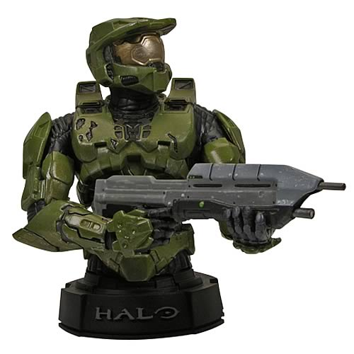 Halo 3 Green Master Chief Mini-Bust