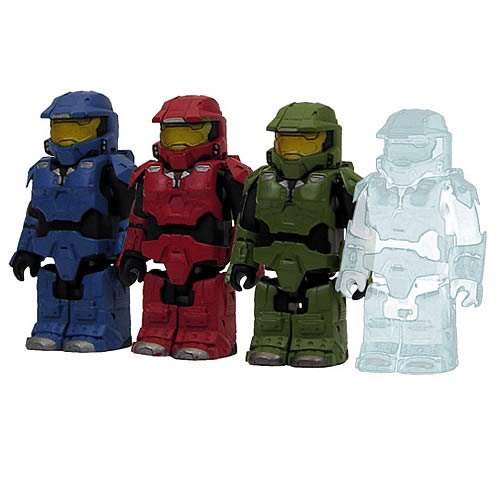 Halo 3 Master Chief Kubricks Mini-Figures Set