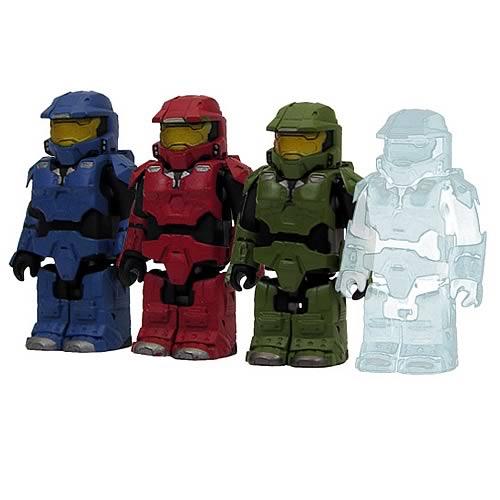 Halo 3 Master Chief Kubricks Mini-Figures Set