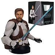 Star Wars Obi-Wan Kenobi in Clone Trooper Armor Mini Bust