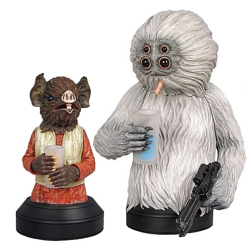 Star Wars Kabe and Muftak Mini Bust Sculpture 2-Pack