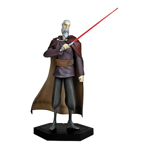 Star Wars Clone Wars Count Dooku Animated Maquette