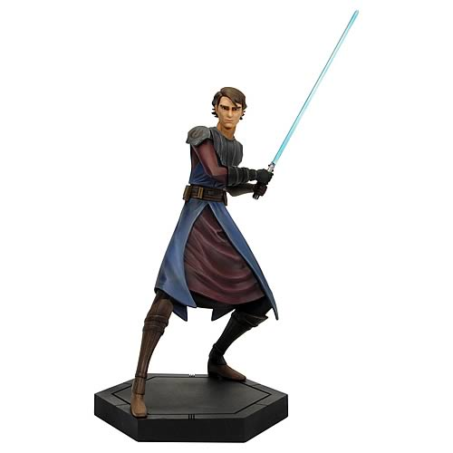 Star Wars Clone Wars Anakin Skywalker Animated Maquette