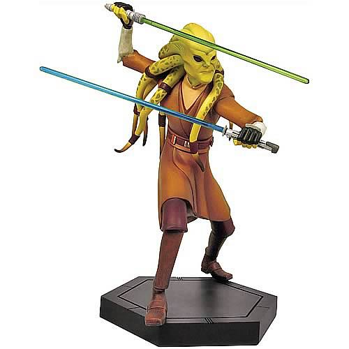Star Wars Clone Wars Kit Fisto Animated Maquette