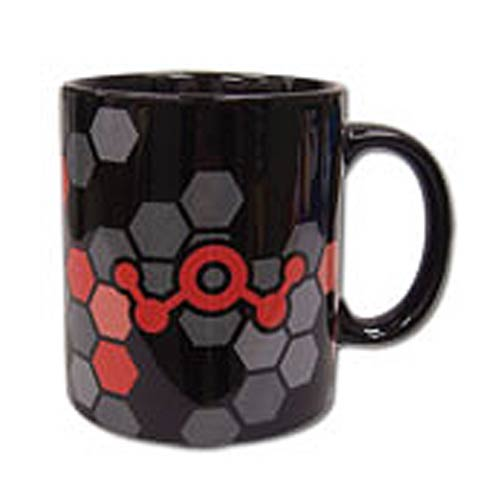 Accel World Prominence Icon 11 oz. Black Ceramic Mug