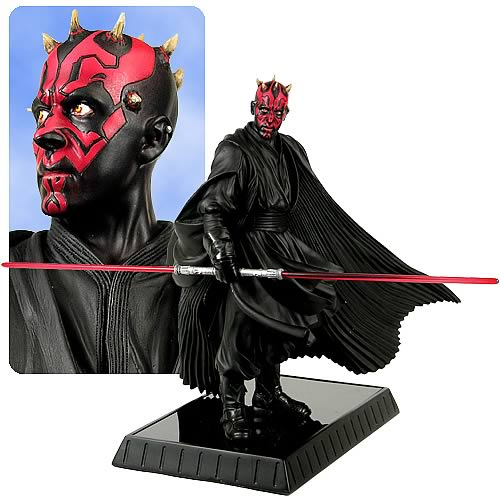 Star Wars Darth Maul Statue