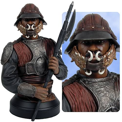 Star Wars Lando Calrissian (Skiff Guard) Mini Bust