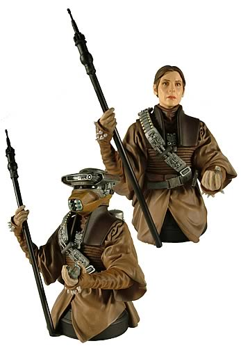 Princess Leia in Boushh Disguise Mini Bust