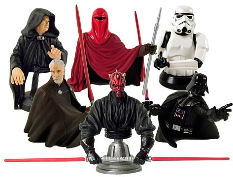 Star Wars Bust-Ups Series 2 6-Pack