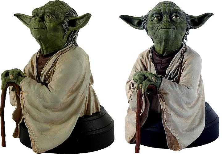 Star Wars Episode V Yoda Mini Bust