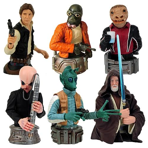 Star Wars Bust-Ups Statues Series 6 Case