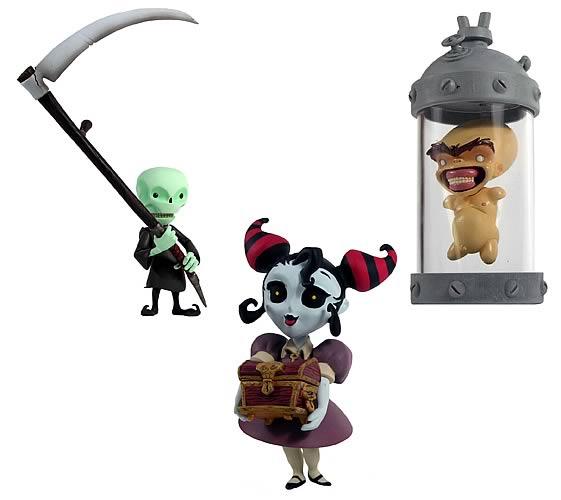 Death Jr. Action Figures Series 1 Half Case