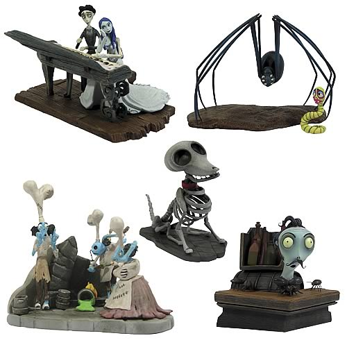 Corpse Bride Bust Ups Series 2