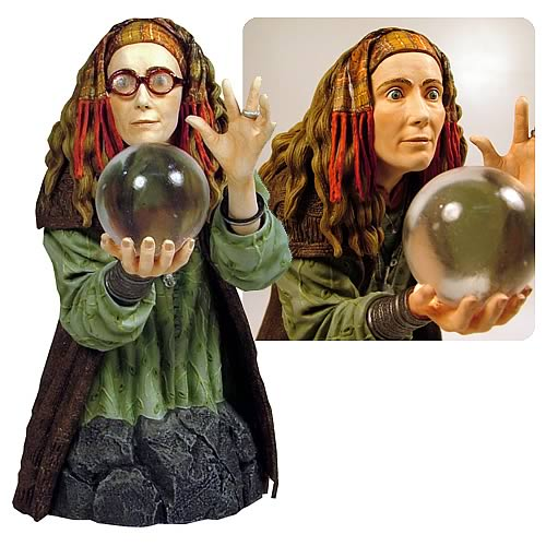 Harry Potter Professor Trelawney Mini Bust