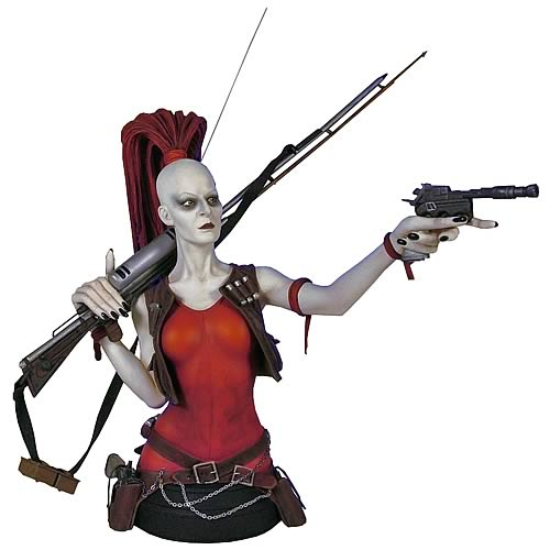 Star Wars Aurra Sing Mini Bust