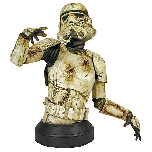 Star Wars Death Trooper Zombie Stormtrooper Mini Bust