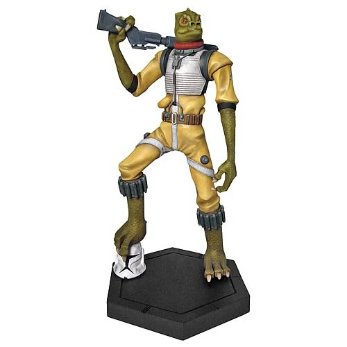 Star Wars Bossk Animated Maquette Celebration V Exclusive