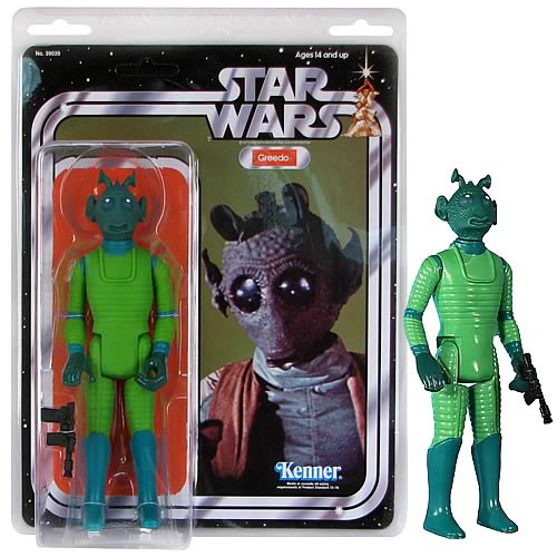 Star Wars Greedo Jumbo Vintage Kenner Action Figure