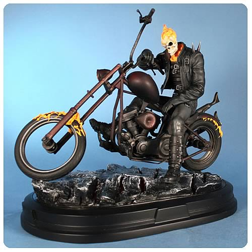 ghost rider statue gentle giant ghost rider statues at 高清图片