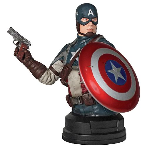 Captain America Movie SDCC 2011 Exclusive Mini Bust
