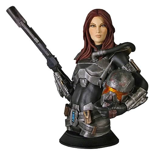 Star Wars The Old Republic Shae Vizla Mini Bust