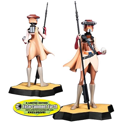 EE Exclusive Star Wars Leia in Boushh Disguise Maquette