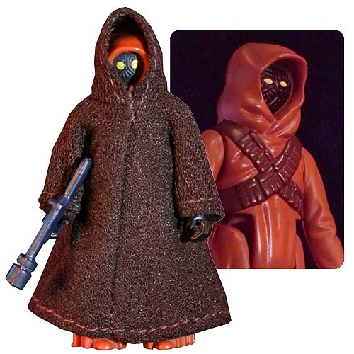 Star Wars Cloth Cape Jawa Jumbo Vintage Kenner Action Figure