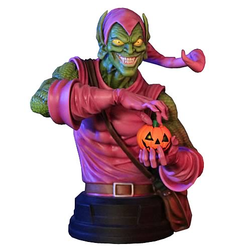 Spider-Man Green Goblin Mini-Bust