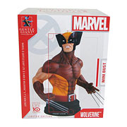 X-Men Wolverine Brown Costume Mini Bust