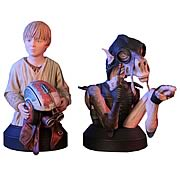 Star Wars Sebulba and Anakin Skywalker Mini-Bust 2-Pack