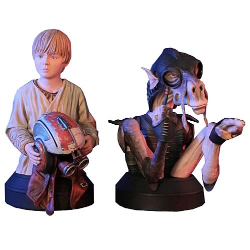 Star Wars Sebulba and Anakin Skywalker Mini-Bust 2-Pack