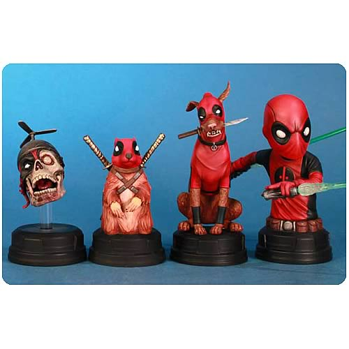 Deadpool Corps Mini-Bust Boxed Set