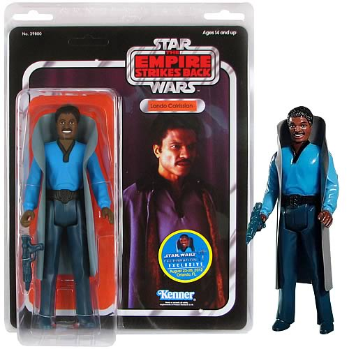 Star Wars Lando Calrissian CVI Jumbo Kenner Figure