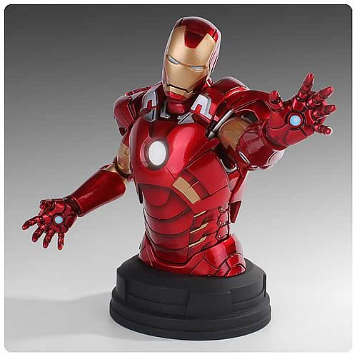 Avengers Iron Man Deluxe Mini-Bust