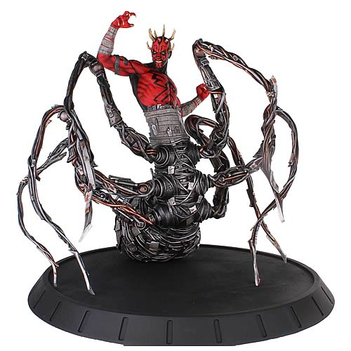 Star Wars Clone Wars Darth Maul Spider Statue