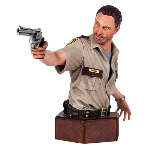 The Walking Dead Sheriff Rick Grimes Mini-Bust