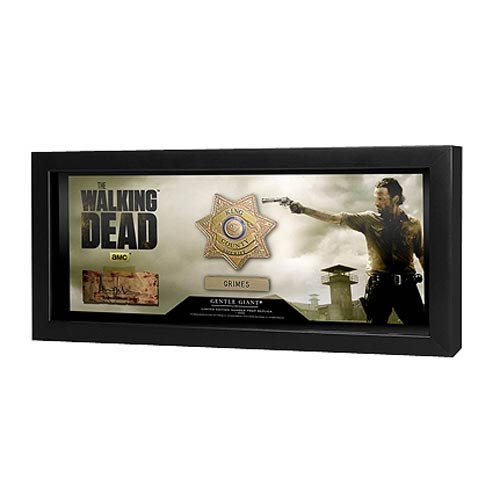 The Walking Dead Sheriff Rick Grimes Badge Prop Replica