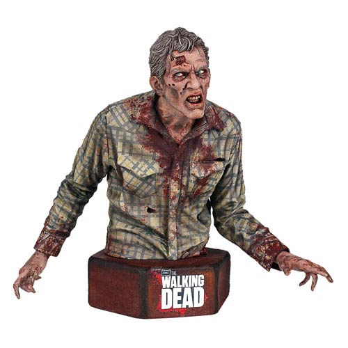 The Walking Dead Sophia Stalker Walker Zombie Mini-Bust