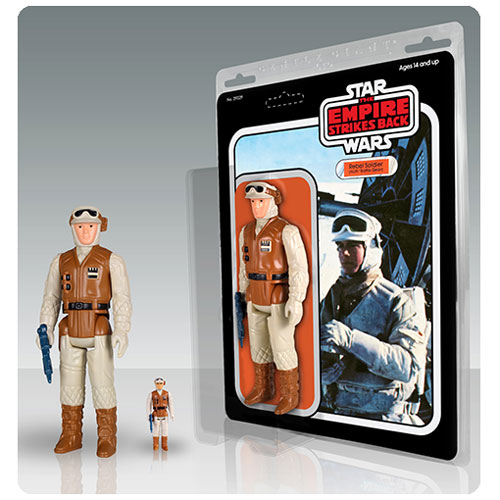 Star Wars Hoth Rebel Soldier Jumbo Kenner Action Figure