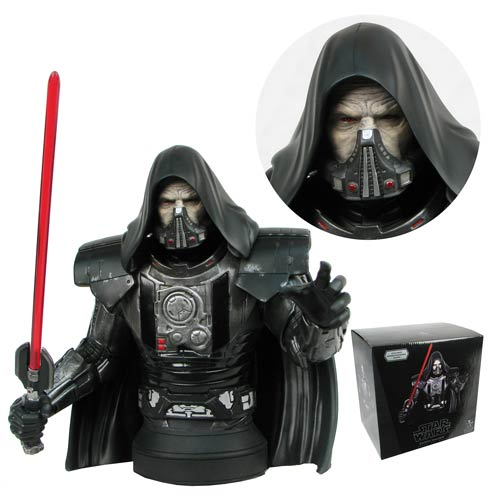 Star Wars The Old Republic Darth Malgus Mini-Bust