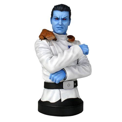 Star Wars Grand Admiral Thrawn Mini-Bust