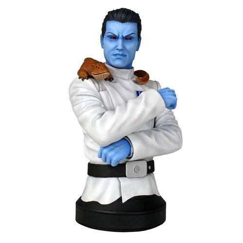 Star Wars Grand Admiral Thrawn Mini-Bust